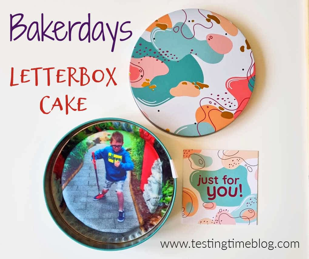 Avis sur le gâteau Bakerdays Letterbox